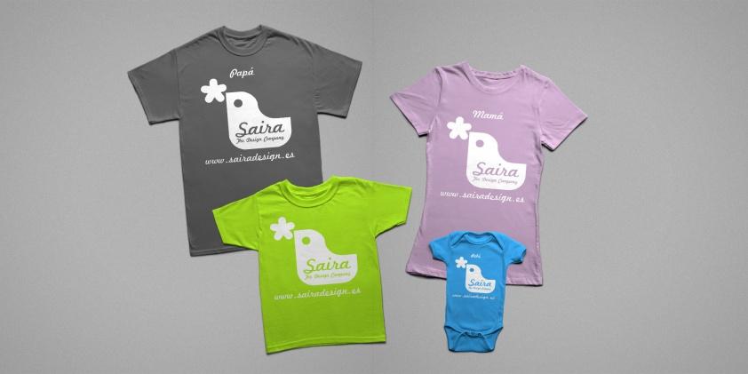 Saira Design - Productos - Camisetas Personalizadas