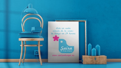 Saira Design - Productos - Lienzo