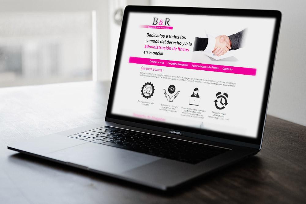 Saira Design - Proyectos Web - Abogados Buenos y Román