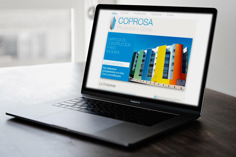 Saira Design - Proyectos Web - Coprosa Proyectos y Obras