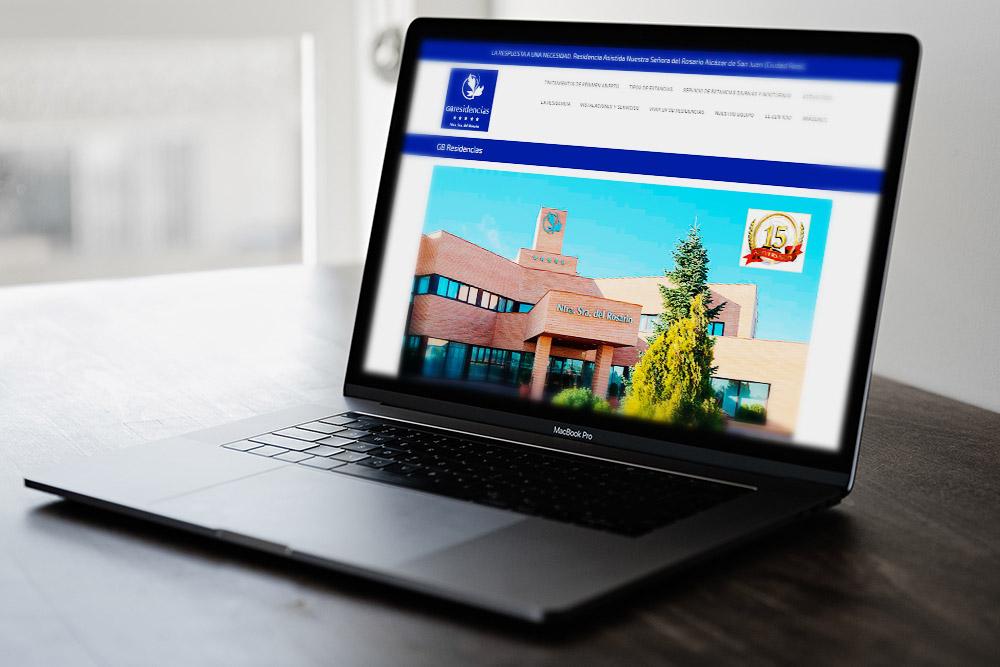 Saira Design - Proyectos Web - GB Residencias