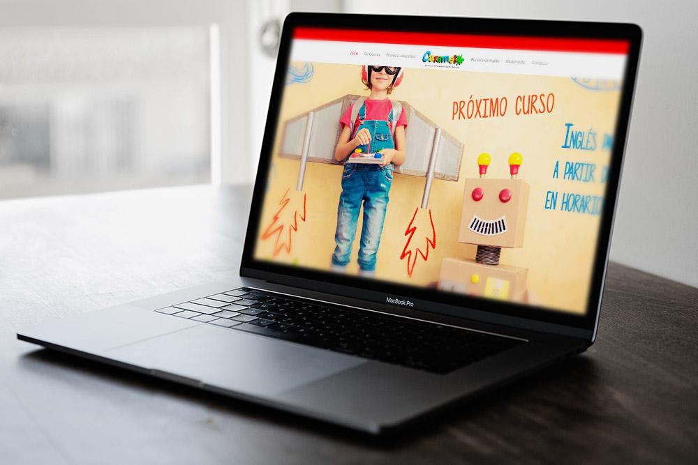 Saira Design - Proyectos Web - Guardería Caramelo