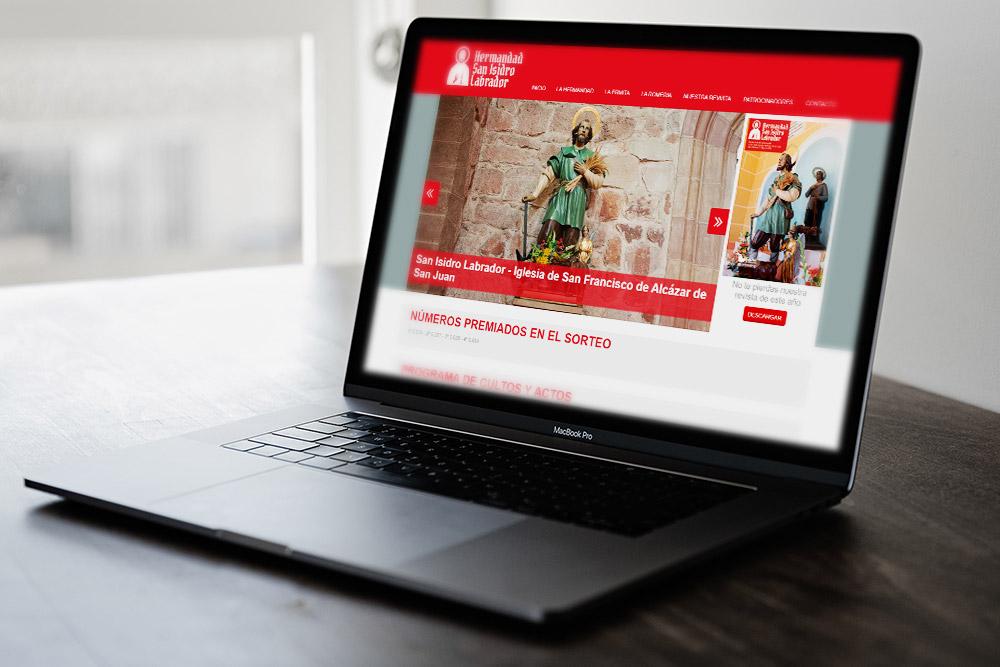 Saira Design - Proyectos Web - Hermandad de San Isidro Labrador
