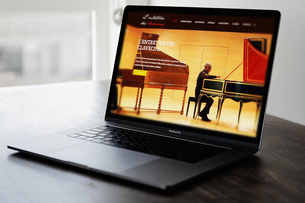 Saira Design - Proyectos Web - L'entretien des Clavecins