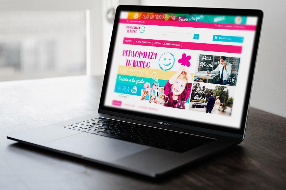 Saira Design - Proyectos Web - Personaliza tu Mundo